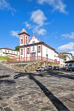 Sao Francisco de Assis Church, Diamantina, UNESCO World Heritage Site, Minas Gerais, Brazil, South America