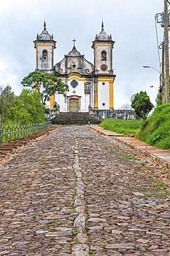 Sao Francisco de Paula Church, Ouro Preto, UNESCO World Heritage Site, Minas Gerais, Brazil, South America