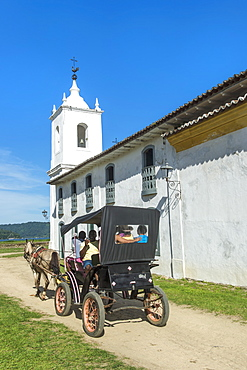 Nossa Senhora das Dores Chapel, Paraty, Rio de Janeiro state, Brazil, South America