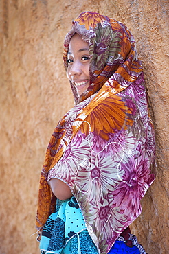 Young Malagasy girl, 15-16 years old, Morondava, Toliara province, Madagascar, Africa
