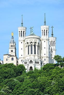 Basilica Notre-Dame de Fourviere, UNESCO World Heritage Site, Lyon, Rhone, France, Europe