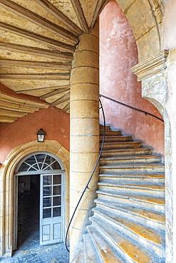Traboule Hotel Paterin, Saint Jean district, Old Lyon, UNESCO World Heritage Site, Lyon, Rhone, France, Europe