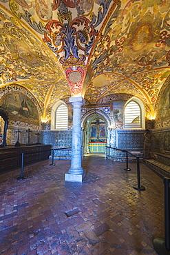 Chapter House, Convento de Nossa Senhora da Conceicao (Our Lady of the Conception Convent), Regional Museum Dona Leonor, Beja, Alentejo, Portugal, Europe