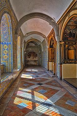 Rosary Court, Convento de Nossa Senhora da Conceicao (Our Lady of the Conception Convent), Regional Museum Dona Leonor, Beja, Alentejo, Portugal, Europe