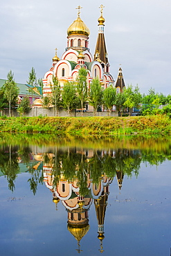 Church of the Exaltation of the Holy Cross, Almaty, Kazakhstan, Central Asia, Asia