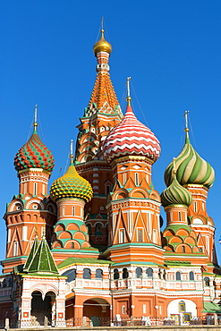 St. Basil's Cathedral, UNESCO World Heritage Site, Moscow, Russia, Europe