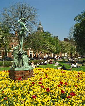 Park Square, Leeds, Yorkshire, England, United Kingdom, Europe
