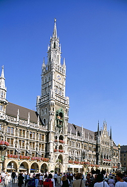 Town hall, Munich, Bavaria, Germany, Europe