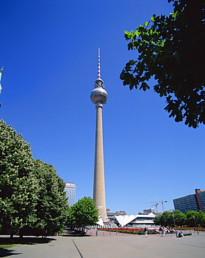 The T.V. Tower, Berlin, Germany, Europe