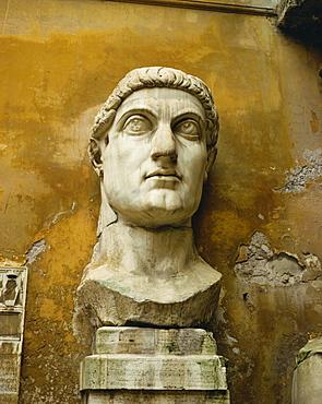 Statue from the Constantine Colossus, Rome, Lazio, Italy, Europe