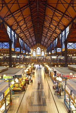 Central Markets, Budapest, Hungary, Europe
