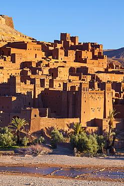 Ait Benhaddou, UNESCO World Heritage Site, Atlas Mountains, Morocco, North Africa, Africa