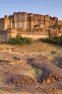 Meherangarh Fort, Jodhpur, Western Rajasthan, India, Asia