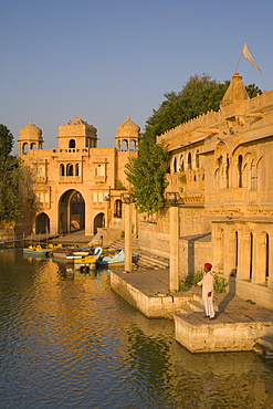 Gadi Sagar, Jaisalmer, Western Rajasthan, India, Asia