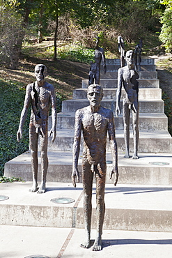 Memorial of the Victims of Communism, Prague, Bohemia, Czech Republic, Europe