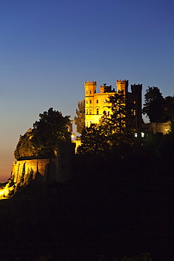 Schloss Ortenberg Castle, Offenburg, Ortenau, Black Forest, Baden Wurttemberg, Germany, Europe