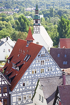 Old Town, Waiblingen, Rems-Murr District, Baden Wurttemberg, Germany, Europe