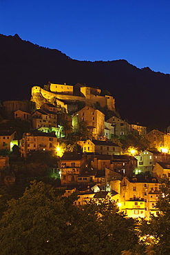 Citadel, Corte, Corsica, France, Mediterranean, Europe