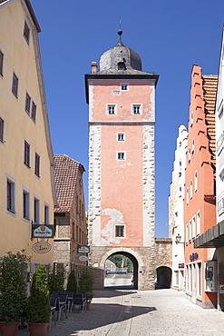 Klingentor Gate, Ochsenfurt, Mainfranken, Lower Franconia, Bavaria, Germany, Europe
