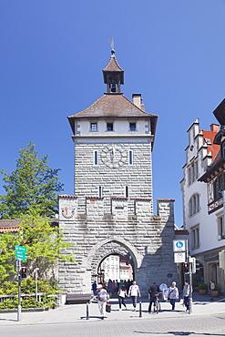 Schnetztor Tower, Konstanz, Lake Constance, Baden-Wurttemberg, Germany, Euruope