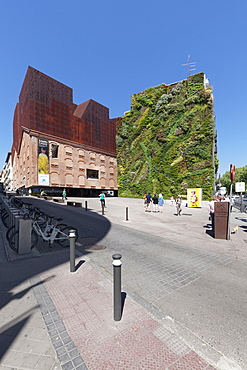 Caixa Form, Museum, Architect Herzog and De Meuron, Madrid, Spain, Europe