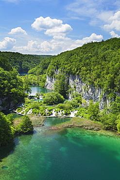 Gavanovac Lake and Milanovac Lake, Plitvice Lakes National Park, UNESCO World Heritage Site, Croatia, Europe
