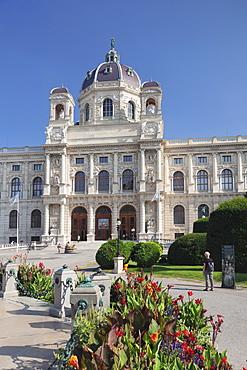 Kunsthistorisches Museum (Museum of Art History), Maria Theresien Platz Square, Vienna, Austria, Europe