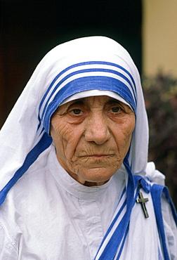 Mother Teresa of Calcutta in India