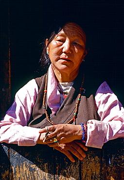 Woman in Bhutan