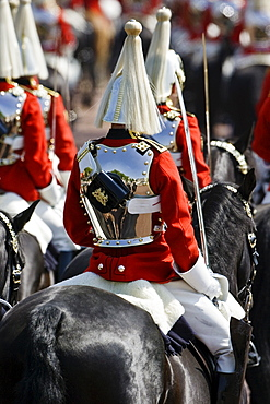 Soldier of Life Guards Regiment at Military Parade parade in London, UK