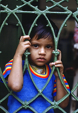 Child, Mother Teresa's Mission, Calcutta, India.
