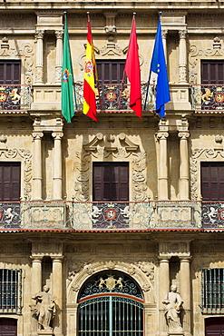 Ayuntamiento, town hall, in Pamplona, Navarre, Northern Spain