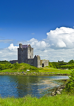 Dunguaire Castle, restored 16th Century tower house, Kinvara, County Galway, Ireland