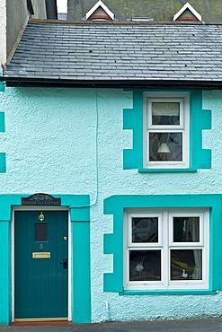 Quaint fisherman's cottage at Aberdyfi, Aberdovey, Snowdonia, Wales