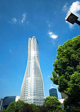 Shiny Raffles City skyscraper, Hangzhou, China, Asia - 1171-276