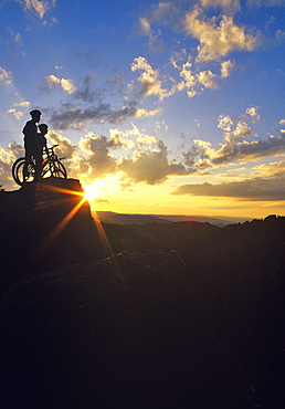 Mountain Bike, South Dakota, America