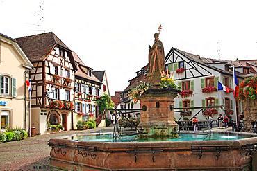 France, Alsace, Haut-Rhin, Eguisheim