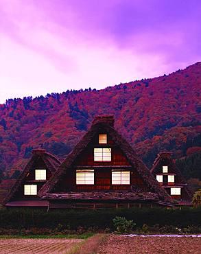 Shirakawa-go, Gifu Prefecture, Japan