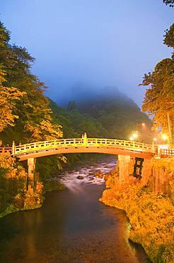 Nikko Futarasan Shrin, Shinkyo Bridge and Daiya River, Tochigi, Japan