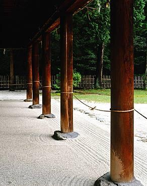 Kamigamo Temple, Kyoto, Japan