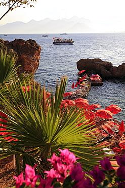 View of sea at Antalya, Turkey