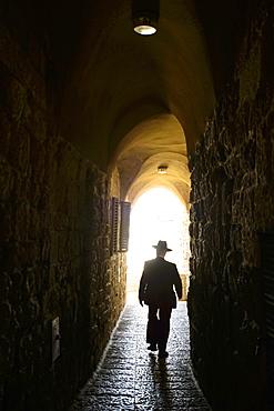 An alleyway in the Jewish quarter, Jerusalem, Israel