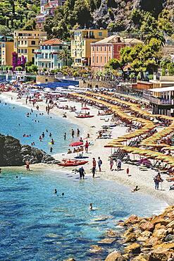 Spiaggia di Fegina, Cinque Terre, Liguria, Italy
