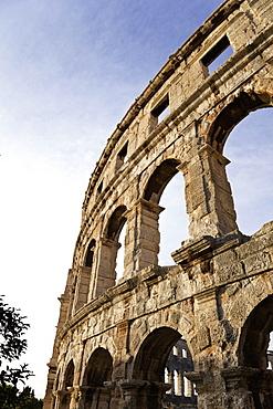 Pula Arena amphitheater in Croatia