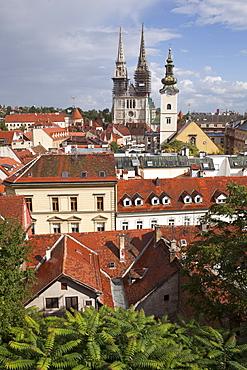 View of Zagreb city, Croatia