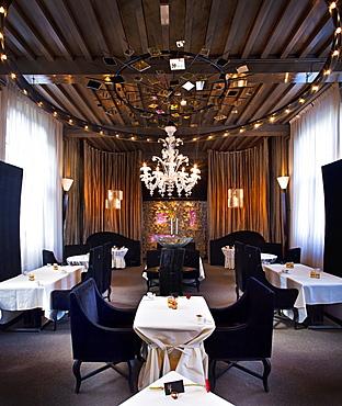 Interior of restaurant at De Librije, Zwolle, Overijssel, Netherlands