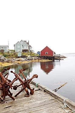 View of Peggy's Cove Fishing Village, Nova Scotia, Canada