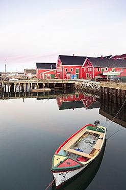 View of Lunenburg Harbour, Nova Scotia, Canada