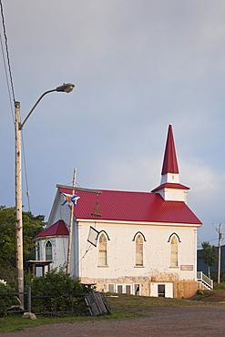View of Church in Cape Breton Island, Canada