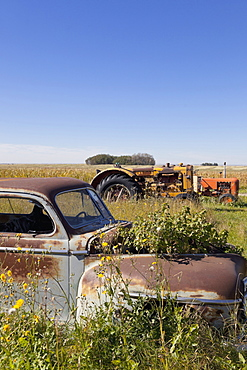 Old ELV near Highway 15, Saskatchewan, Canada